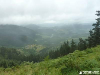 Parque Natural de Urkiola;libro rutas senderismo españa mont rebei sierra de guadarrama puigmal